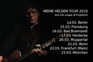 MEINE HELDEN – Solotour
